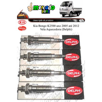 Vela Aquecedora Kia Bongo K2500 Delphi (jogo) Compre Agora !