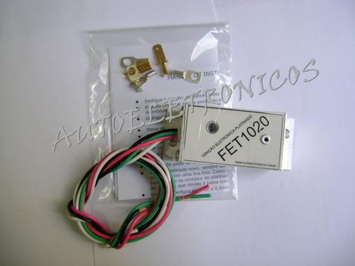 Ignição Eletronica P/ Motores C/ Platinado - Fet10