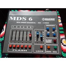 Mds 6 - Mesa De Iluminação Dimmer 6 Canais 3000w Mds6 Magma