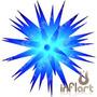 Sputnik Ouriço 66 Completo - Inflável, Estrela, Neon, Led