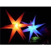 Estrela 11 Pontas Branco Dj,festa,estrela,iluminacao,luz