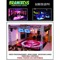 Piso De Led Video P16 - Pista De Led Video - 5x5 - Bndes