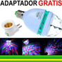 Kit Atacado 10 Lampadas De Led Colorida Rotativa Para Festas