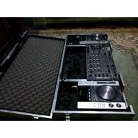 Cdj 200s + Mixer Djm 3000 Pioneer + Case Aluminio