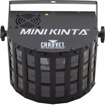 Led Tek Mini Kinta Chauvet Multi Raio De Sol Quad Derby Nf-e