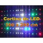 Cortina Led - 3,0 X 2,0 Mt - Lateral - 20 Efeitos - Abhsynto