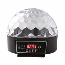 Bola Maluca De Led Rgb Dmx Projetor Holográfico