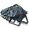 Kit 6 Uni Led Par 64 Rgb 54 Leds De 3w, Dmx, Strobo, Digital