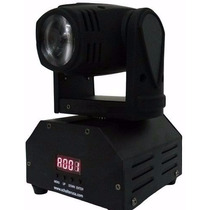 Mini Beam Moving Head Led 10w Cree Rgbw Dmx, Strobo, Prof.