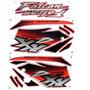 Kit Jogo Adesivo Honda Falcon 2001 Vermelha