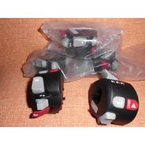 Punho Luz Eletrico Lado Esq.moto Bmw F800gs Switch Abs/asc