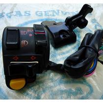 Chave Luz Interruptor (lado Esq.) Honda Cg125 Ml Turuna Novo