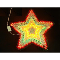 Estrela Pisca Natalina Enfeite Natal 8 Funções 140 Lampadas