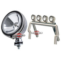 Farol Off Road Milhas 5 Triciclo Jeep Pick Up Buggy Fusca