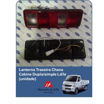 Lanterna Traseira Chana Cabine Dupla/simple Ld/le (unidade)