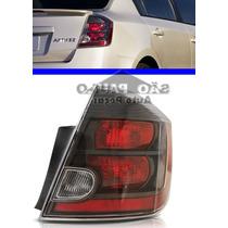 Lanterna Sentra Nissan Direita 07 08 09 10 11 12 Fume Negra