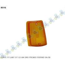 Lente Lanterna Dianteira Direita Amarela Fiorino 84/90 - Ht
