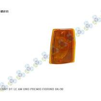 Lanterna Dianteira Esquerda Amarela Fiorino 84/90 - Ht