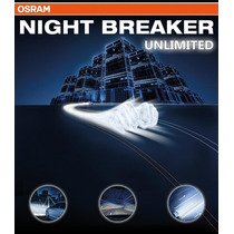 Kit Lâmpadas Osram Night Breaker Unlimited H7 + H11
