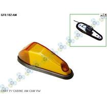 Lanterna P/ Cabine Caminhão Volkswagen - Amarelo