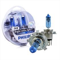 Lampadas Philips H4 Cristal Vision 4300k Super Brancas