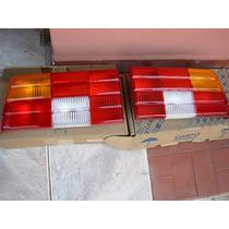 Par Lanterna Traseira Tricolor Monza Sr Original M.carto