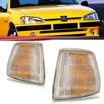 Lanterna Dianteira Pisca Seta Peugeot 106 93 94 95 96