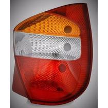 Lanterna Traseira Palio G2 2001 A 2003 Fire Tricolor Ld