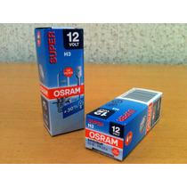 Lampada Osram Original Super H3 Farol Auxiliar Amarela