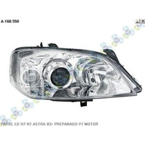 Farol Le/ld H7 H1 Astra 03/... Preparado P/ Motor