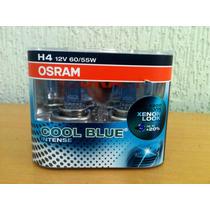 Lampada Osram Cool Blue Intense H4 Farol 4200k Super Branca