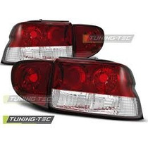 Tuning Imports Par De Lanterna Altezza Red Ford Escort 97/04