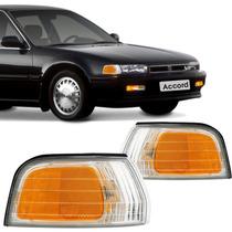 Lanterna Pisca Dianteira Honda Accord Branco E Âmbar
