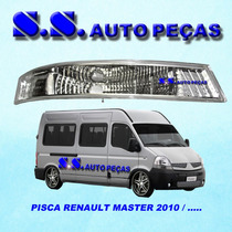 Pisca Renault Master Lanterna Dianteira Master Cristal