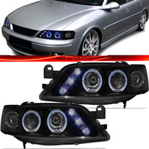 Farol Vectra Angel Eyes 1997 1998 1999 2000 2001 2002 Led