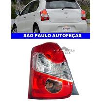 Lanterna Etios Toyota Hatch 2012 2013 2014 Original Esquerda