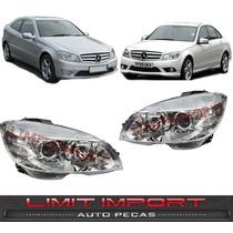 Par Farol Mercedes Clc / C180 C200 2007 2008 2009 2010 2011