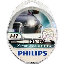 Kit Lâmpada Philips Xtreme Vision H7 55w 12v - Efeito Xenon