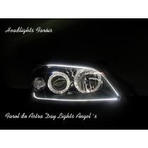 Farol Do Astra Day Lights Angel Eyes Mascara Negra Tuning