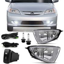 Kit Farol De Milha Honda Civic 2004 2005 Bt Modelo Original