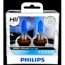 Lâmpadas Philips Tipo Xenon Diamond Vision H11 5000k
