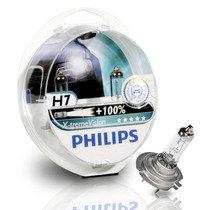 Kit Lâmpadas Philips X-treme Vision H7 + H1 Efeito Xenon