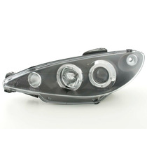Par Farol Projector Angel Eyes Sonar Peugeot 206 1998 A 2008