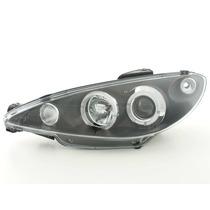Par Farol Projector Angel Eyes Led Sonar Peugeot 206 98 A 09