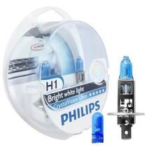 Lampada Philips Crystal Vision H1 55/60 Original Garantia Nf