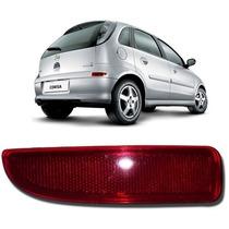Lanterna Refletora Parachoque Corsa 02 Vermelha Acrílica