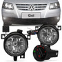 Kit Farol Milha Gol G4 2006 A 2014 Polo Sedan Hatch 03 A 06