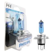 Lâmpada Philips Blue Vision 4000k Modelo H4 12v 60/55w