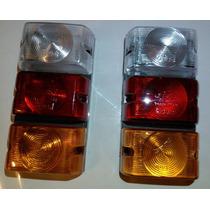 2 Lanterna 3 Lentes Jeep Buggy Carretinha + Frete Gratis !!!