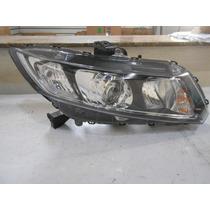 Farol Honda New Civic 12/14 Lado Direito Passageiro